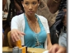 Evelyn Ng Playing Poker