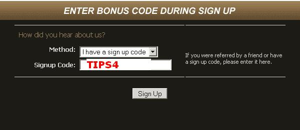 Cake Poker Sign Up Code