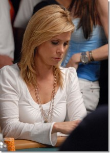 Cheryl Hines collecting chips