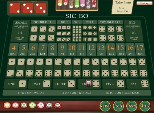 online casino no download sic bo